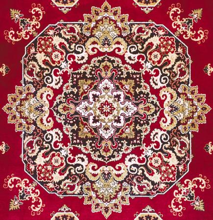 carpet texture: Red Oriental Persian Carpet Texture Background