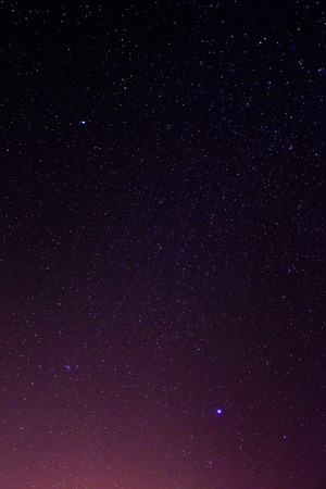night sky and stars: night sky stars background Stock Photo