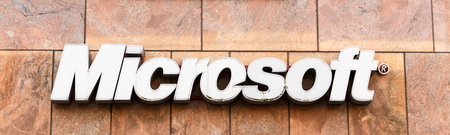 TALLINN, ESTONIA - JULY 26: Microsoft Corporation headquarter. Microsoft is a multinational corporation that develops, supports and sells computer software and services On July 26, 2014 In Tallinn, Estonia