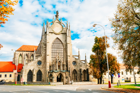 john the baptist: Church Of Assumption Of Our Lady And Saint John Baptist Is in Kutna Hora In Czech Republic