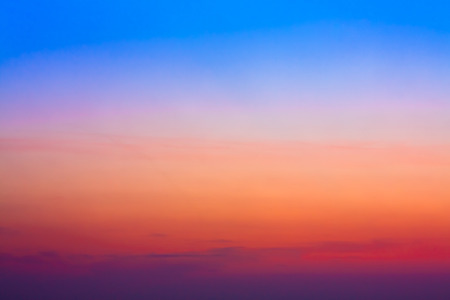 Colorful Sky After Sunset. Natural Sky Background.