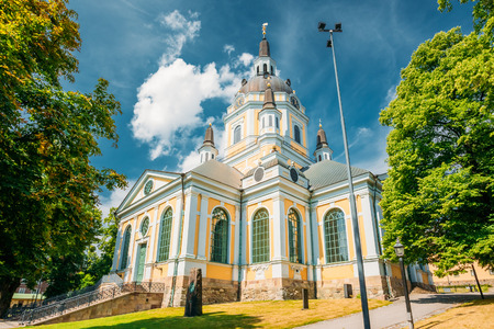 katarina: Katarina kyrka (Church of Catherine) is one of the major churches in central Stockholm, Sweden Stock Photo
