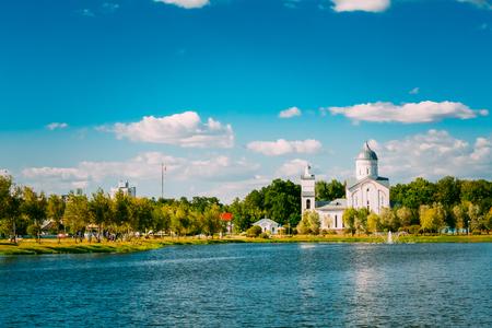 nevsky: St. Alexander Nevsky Church in Gomel, Belarus. Orthodox Church