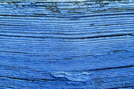 obsolete: Old Blue Painted Obsolete Wooden Board Background Texture