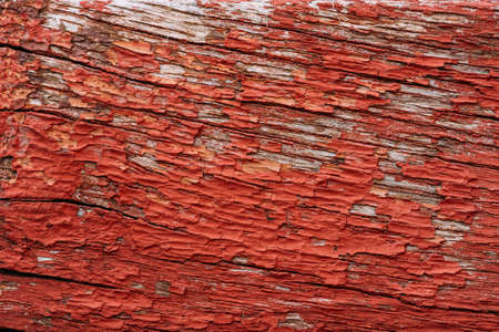 obsolete: Old Red Obsolete Wooden Board Background Texture
