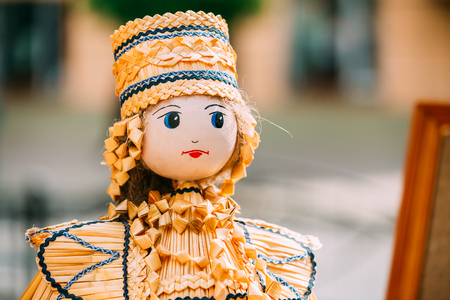 most popular: Belarusian Straw Doll. Straw Dolls Are Most Popular Souvenirs From Belarus.