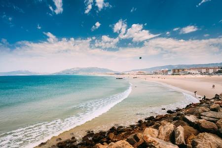 tarifa: Coast near resort town of Tarifa, Andalusia, Spain