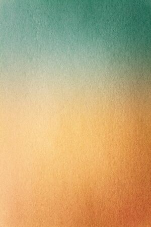 cardboard: Abstract old blue and yellow color paper background texture for design artwork