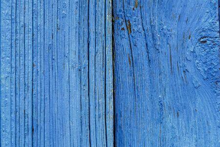 obsolete: Old Blue Obsolete Wooden Board Background Texture