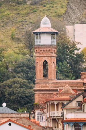 tbilisi: Tbilisi, Georgia. Mosque in Tbilisi near Narikala fortress Stock Photo