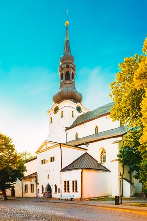 Cathedral of Saint Mary the Virgin or Dome Church or Toomkirik in Tallinn, Estonia.