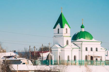 nikolay: Gomel, Belarus. Church Of St Nicholas The Wonderworker In Sunny