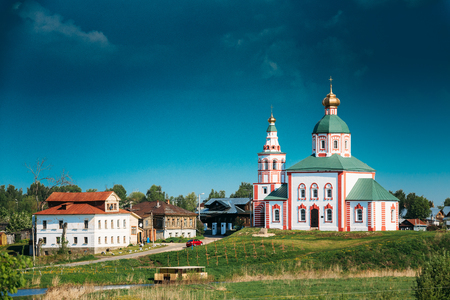 Church Of Elijah The Prophet - Elias Church - Church In Suzdal, Russia. Built In 1744. Golden Ring Of Russia.