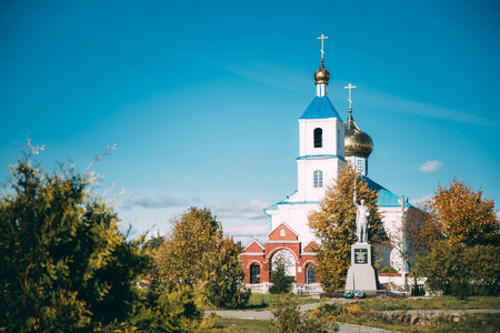 Luzhki, Vitebsk Region, Belarus. Orthodox Church Of Nativity Of