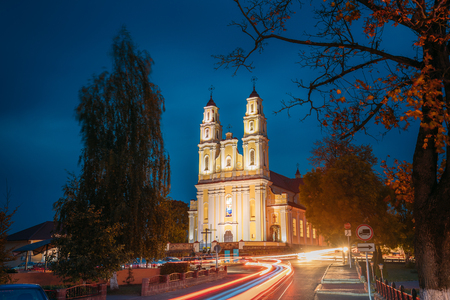Hlybokaye Or Glubokoye, Vitebsk Region, Belarus. Church Of Sts.