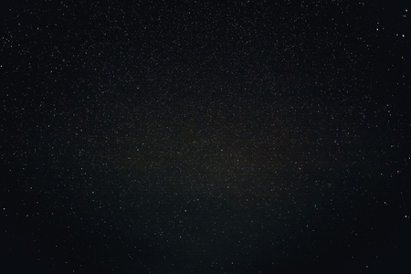Natural Black Night Sky With Bright Stars Background Texture Reklamní fotografie