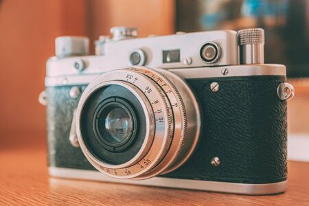 35mm Vintage Old Retro Small-Format Camera, 1950-1960s