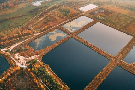 Retention Basins, Wet Pond, Wet Detention Basin Or Stormwater Management Pond, Is An Artificial Pond With Vegetation Around The Perimeter, And Includes A Permanent Pool Of Water In Its Design