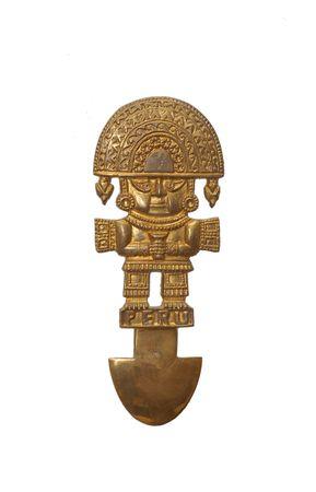 Modelo de la antigua herramienta m�dica para trepanaci�n  Foto de archivo - 2029624