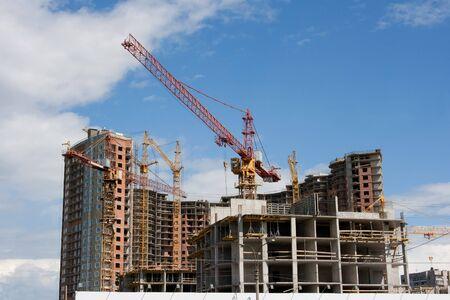 baustellen: Neubau Baustelle  Lizenzfreie Bilder