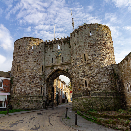 The Landgate on Tower Street in Rye, East Sussex, England, United Kingdom