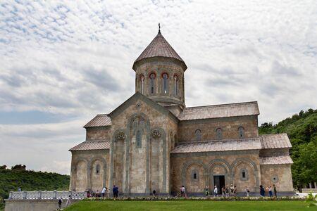July 6, 2019 - Bodbe, Georgia - The Monastery of St. Nino at Bodbe is a Georgian Orthodox church and other sacred buildings near Sighnaghi, Kakheti, Georgia.