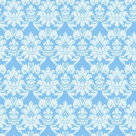 Vintage floral seamless pattern. Classic Baroque wallpaper. Seamless vector background.