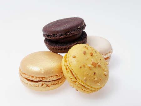 french pastry: Pasteler�a franc�s listo para ser comido,