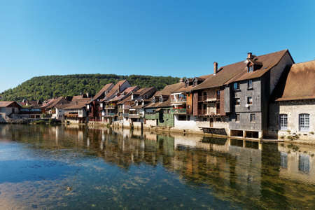 Ornans in the Doubs Stock Photo