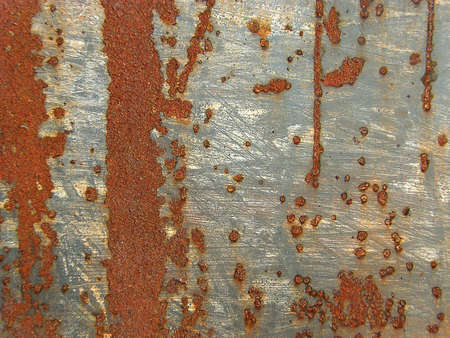 metal texture with scratches and rust, closeup, background