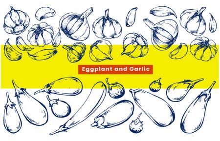 vegetable illustration Vetores