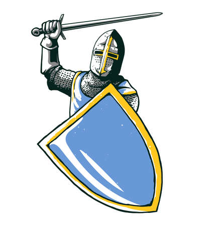 knight isolated design