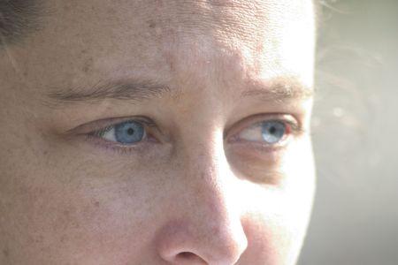 a womans eyes
