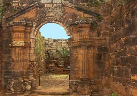 ignacio: San Ignacio ruins Argentina