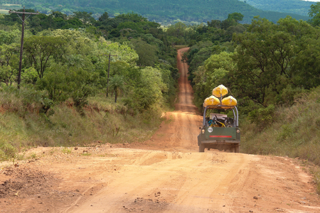 Expedition in 4x4 in south america