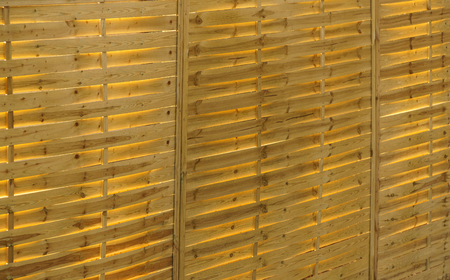 the backlighting: Texture of yellow pine panel