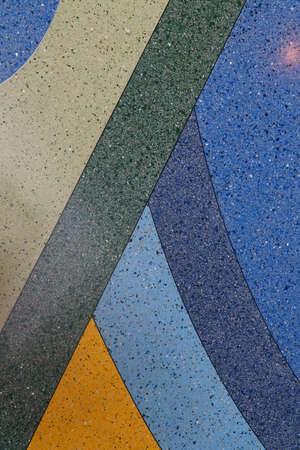 figuras abstractas: Diferentes colores y formas abstractas figuras