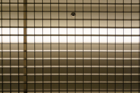 aluminum: Abstract grille made of aluminum Stock Photo