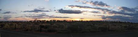 ayers: sunset ayers rock
