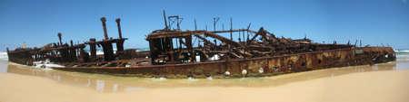 fraser: fraser island maheno shipwreck australia