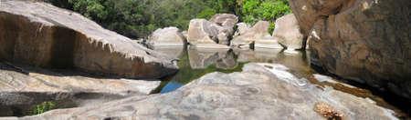 kakadu: rock pools kakadu national park australia Stock Photo