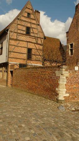 leuven: grand beguinage leuven belgium Stock Photo