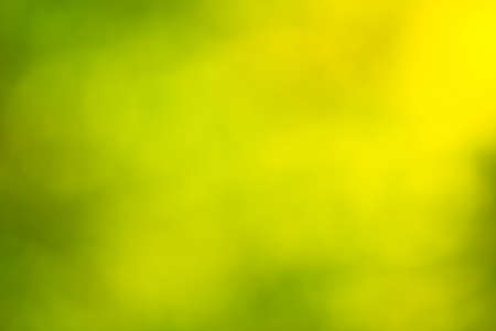 out of focus: Out of focus green and yellow background Stock Photo