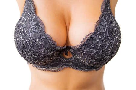 big boobs: Mujer hermosa grande Foto de archivo