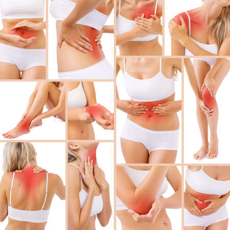 Muscle pain in different parts of body