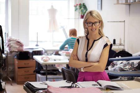 Portrét úspěšného majitel malé firmy Reklamní fotografie