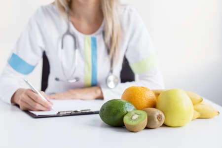 healthy nutrition: Dietitian doctor