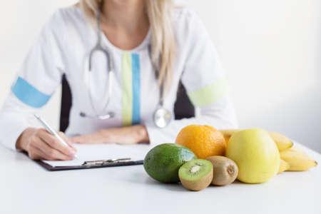inmunidad: Médico dietista Foto de archivo