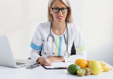 consultant physicians: Nutritionist female doctor