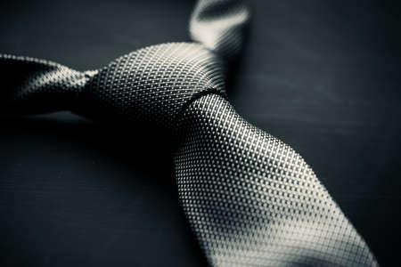 галстук: Крупным планом фото из серых мужской галстук Фото со стока